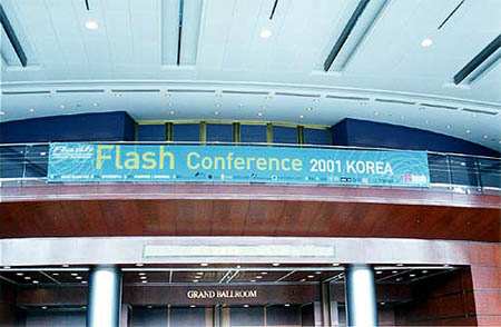 FLASH CONFERENCE 2001 KOREA