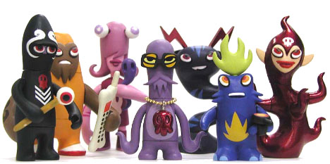 Monsters from the Monsterism collection