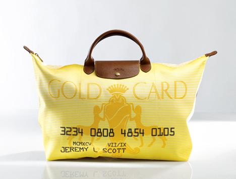 Jeremy Scott's Gold Card