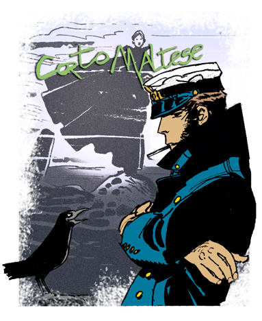 Hugo Pratt for Corto Maltese