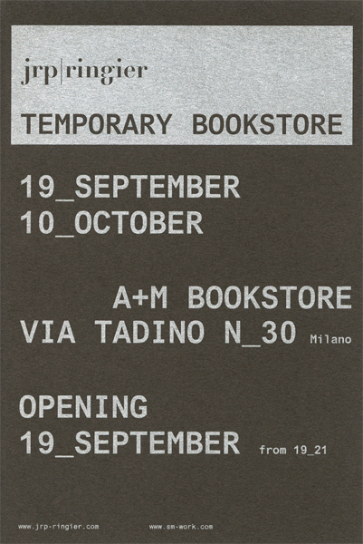 jrp ringier temporary store - milano - flyer