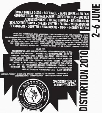 DISTORTION 2010. A CELEBRATION OF COPENHAGEN NIGHTLIFE.