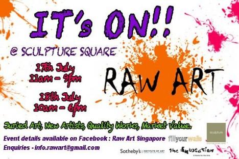 RAW ART – UNDISCOVERED