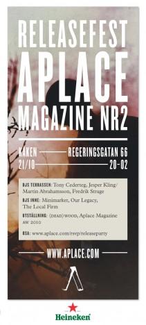 APLACE, MAGAZINE #2