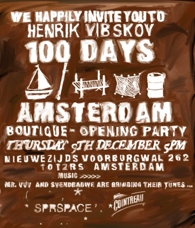 "HENRIK VIBSKOV ""100 DAYS"""