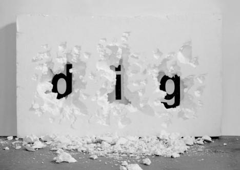 """DANIEL ARSHAM/SNARKITECTURE """"DIG"""""""