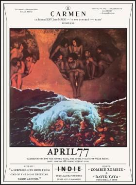APRIL77 FASHION WEEK SS12 PARTY