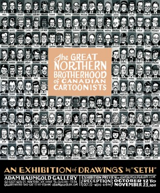 SETH: THE GREAT NORTHERN BROTHERHOOD OF CANADIAN CARTOONISTS
