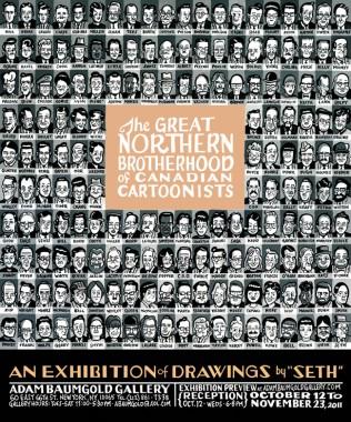 SETH: THE GREAT NORTHERN BROTHERHOOD OF CANADIAN CARTOONISTS