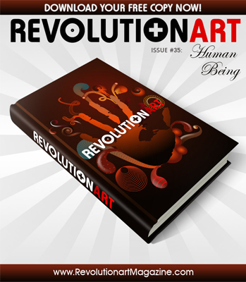 "REVOLUTIONART #35 ""HUMAN BEING"""