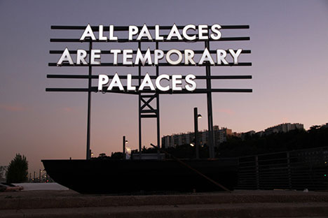 "ROBERT MONTGOMERY ""ECHOES OF VOICES IN THE HIGH TOWERS"""