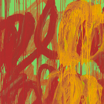 """CY TWOMBLY """"THE LAST PAINTINGS"""""""