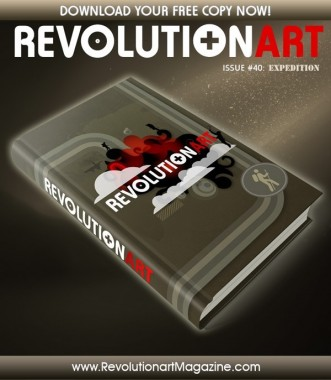 "REVOLUTIONART #40 ""EXPEDITION"""