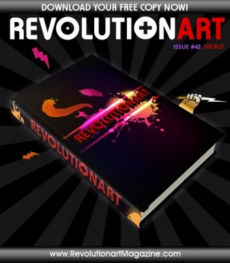 "REVOLUTIONART ""#42 HERO"""