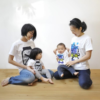 "ATELIER INCURVE ""T-SHIRTS FOR FAMILY"""