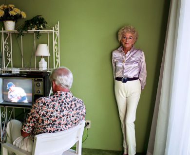 "LARRY SULTAN ""HERE AND HOME"""