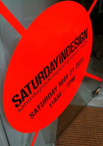SATURDAY IN DESIGN SINGAPORE