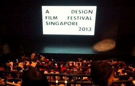 A DESIGN FILM FESTIVAL SINGAPORE 2013