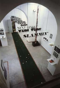 Renée Green Installation view at Galleria Emi Fontana, Milano, 1994