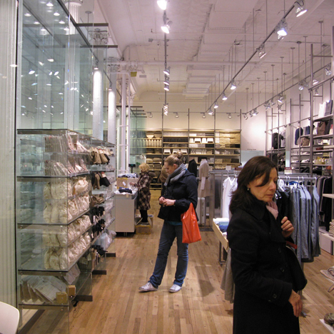 Shift city guide new york muji soho for Furniture stores nyc soho
