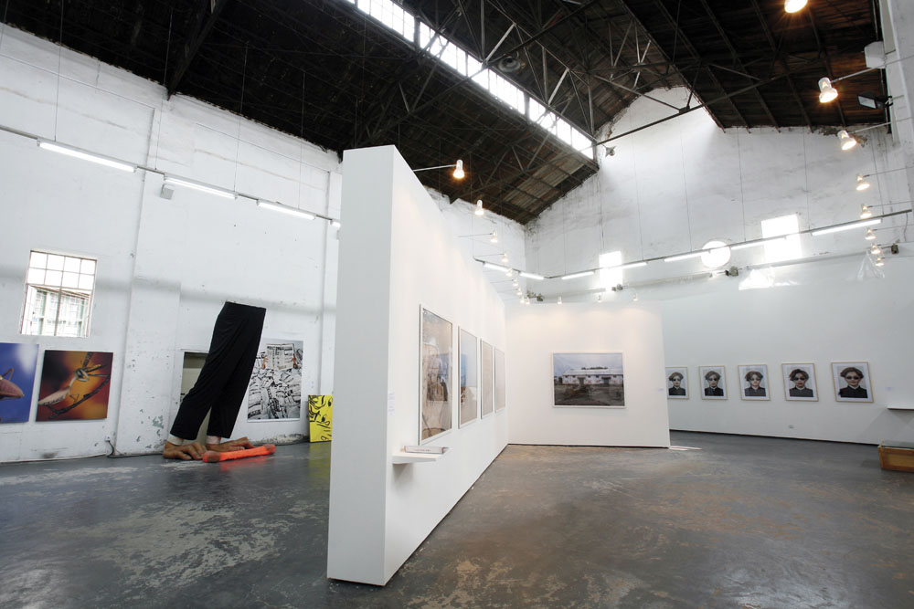 Exhibition space © ShanghART Gallery