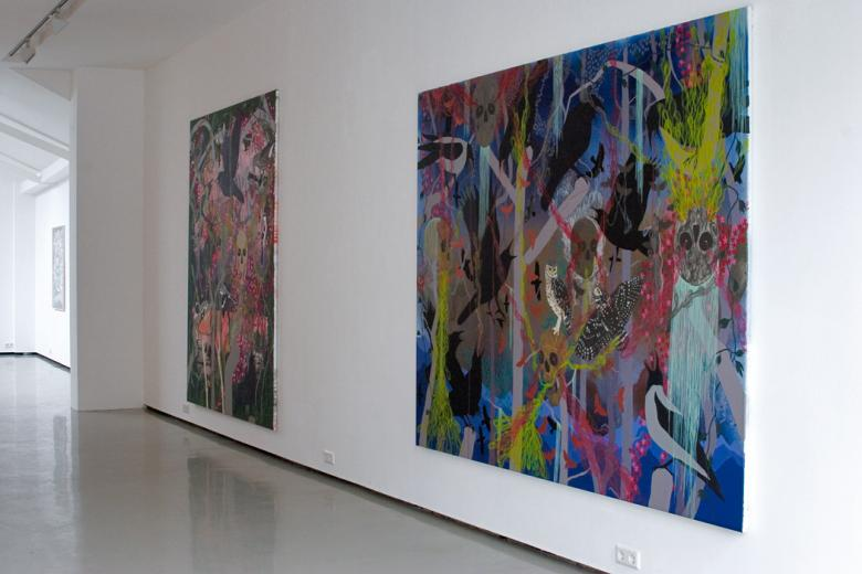 Installation view: James Aldridge © Galerie Gabriel Rolt