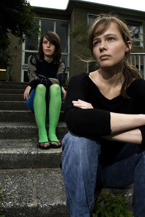 front: Clara Leskovar, back: Doreen Schulz