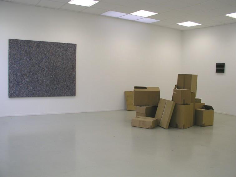 """rerecordingthesurface"", from 26.November 2005 till 04. Februar 2006 / Tom Früchtl © Bernhard Knaus Fine Art GmbH"