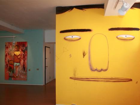 Os Gemeos, 2007 © Galleria Patricia Armocida