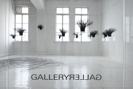 Kakuko Ishii Solo exhibition, 2008 Photo: Makoto Yano © GALLERY GALLERY