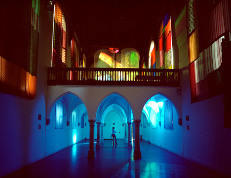 Expecting - Pipilotti Rist. Video-installation, 2001 © Utrecht Centraal Museum