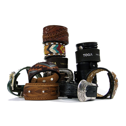 "TOGA ""Leather Brace"" © TOGA ARCHIVES"
