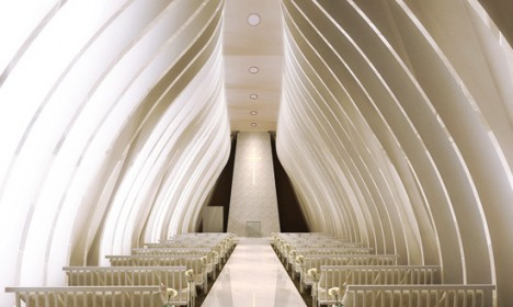 New Chapel - White Rose  GRAND HYATT FUKUOKA