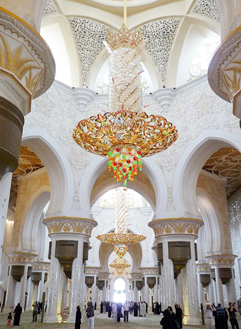 Sheikh Zayed Bin Sultan Al Nahyan Mosque, Photo: Ryan B. / CC BY-SA 3.0