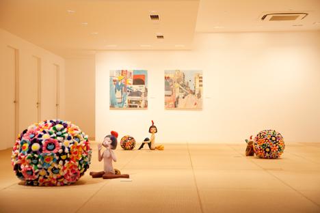 Chika Okazumi Exhibition View © Kaikai Kiki Gallery