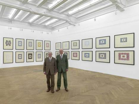 Gilbert and George, The Urethra Postcard Art Of Gilbert & George. Photo: Bernd Borchardt