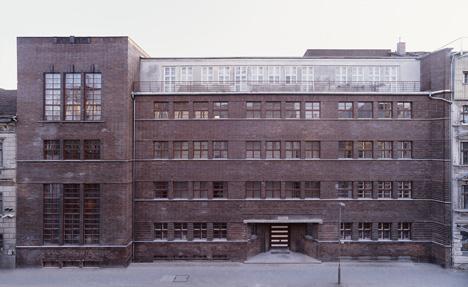 Former Jewish Girls' School (Ehemalige Jüdische Mädchenschule) Photo: Stefan Korte