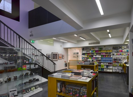 The Photographers' Gallery, Bookshop, 2012 © Dennis Gilbert. Courtesy of The Photographers' Gallery