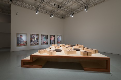 "Lee Mingwei ""Visible, Elusive"" exhibition view. Photo: Ken Kato"