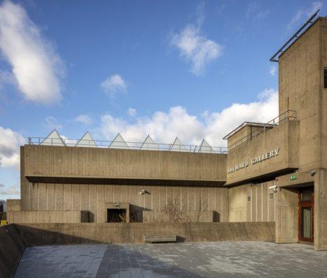 Hayward Gallery exterior © Morley Von Sternberg