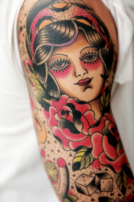 doll tattoo. TATTOO IN JAPAN