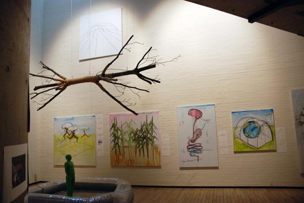 ファブリス・イーベル「たねを育てる」展