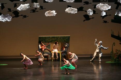 珍しいキノコ舞踊団
