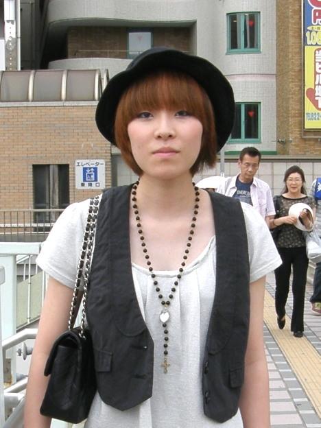 Girls Street Fashion Snap