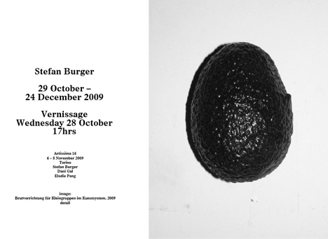 STEFAN BURGER EXHIBITION