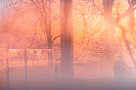 "JAMES WELLING ""GLASS HOUSE"""