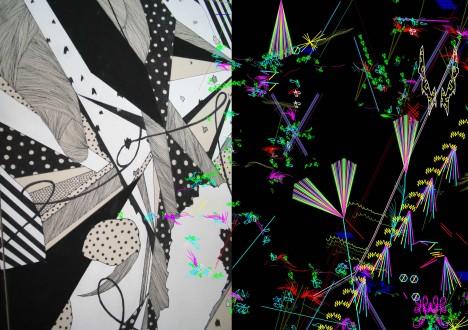 新井夏希個展「BLACK/WHITE」