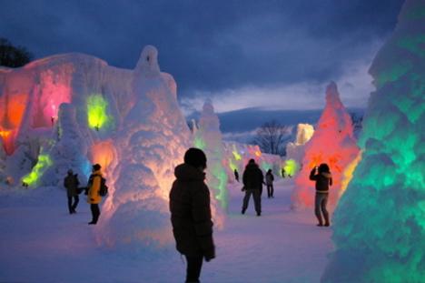 2011 千歳・支笏湖氷濤まつり