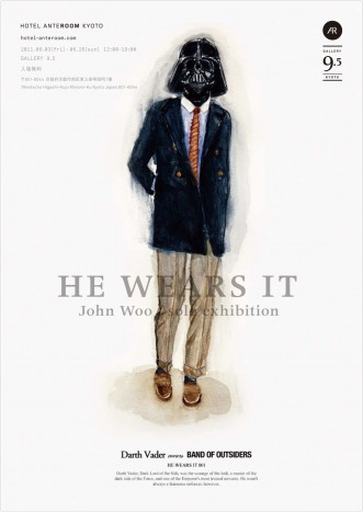 ジョン・ウー個展「HE WEARS IT」