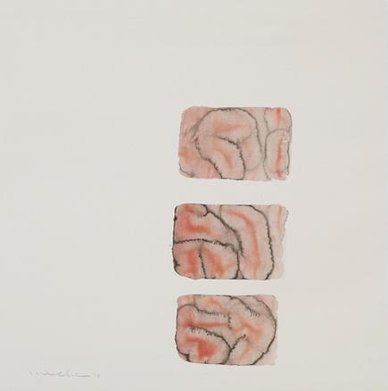 外林道子個展「體と臟」